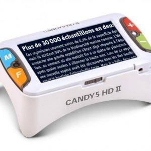 Candy 5 HD II, loupe électronique pour DMLA