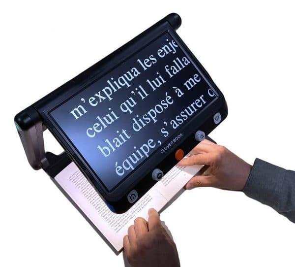 CLOVER BOOK Lite, loupe électronique au format tablette