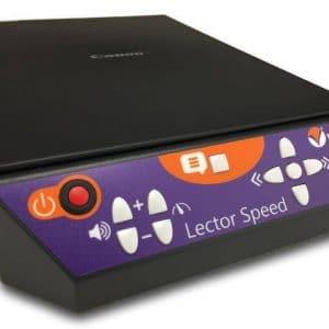 lector speed, machine à lire vocale