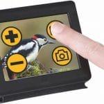 Mano Touch 4, écran tactile