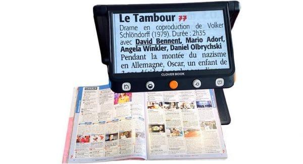 Magazine Tele lu avec la CLOVER BOOK