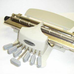 machine à écrire Braille Dactybraille