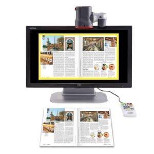 télé-agrandisseur parlant GoVision Pro