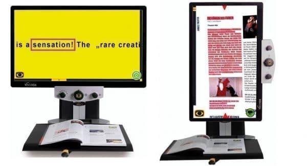 Téléagrandisseur et machine à lire VEO VOX