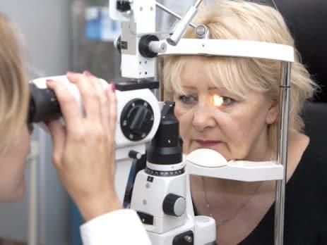 ophtalmologie, examen des yeux