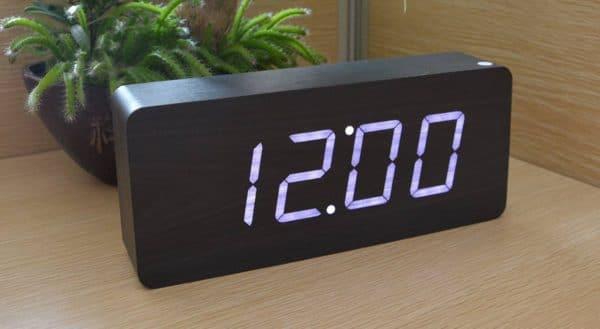 Horloge gros chiffres