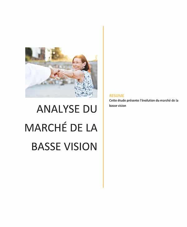 couverture livre Blanc sur marché de la basse Vision par VISIOLE