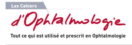 logo les cahiers d'ophtalmologie