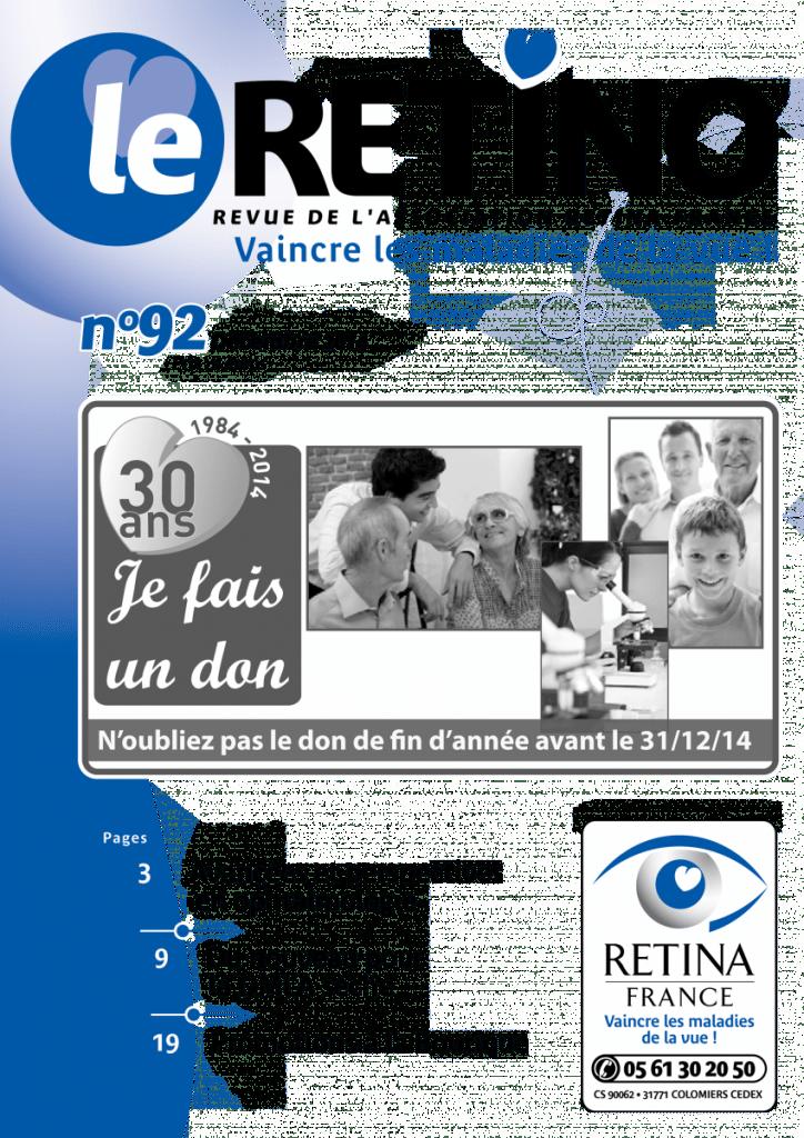Couverture retino-92