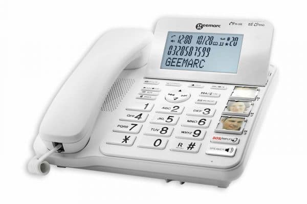 téléphone adapté pour la basse vision