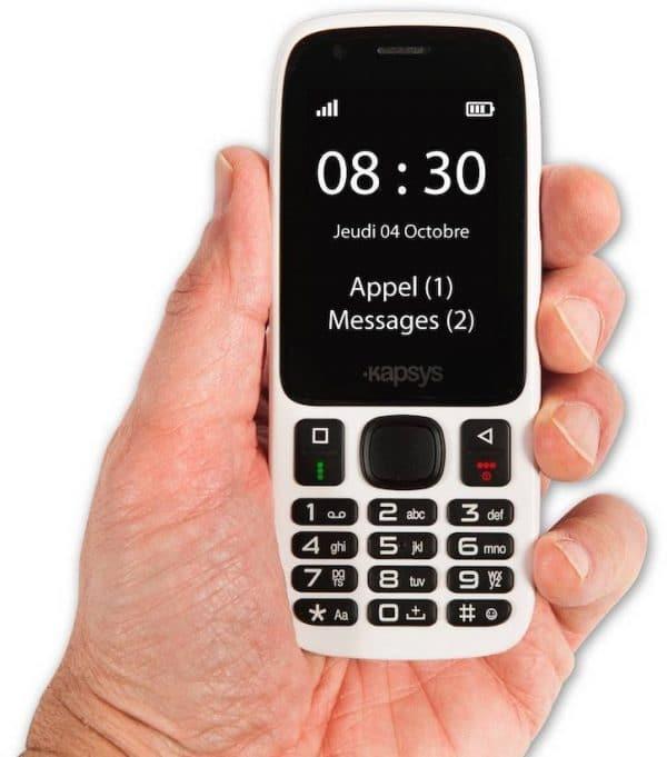 téléphone adapté Minivision Lite