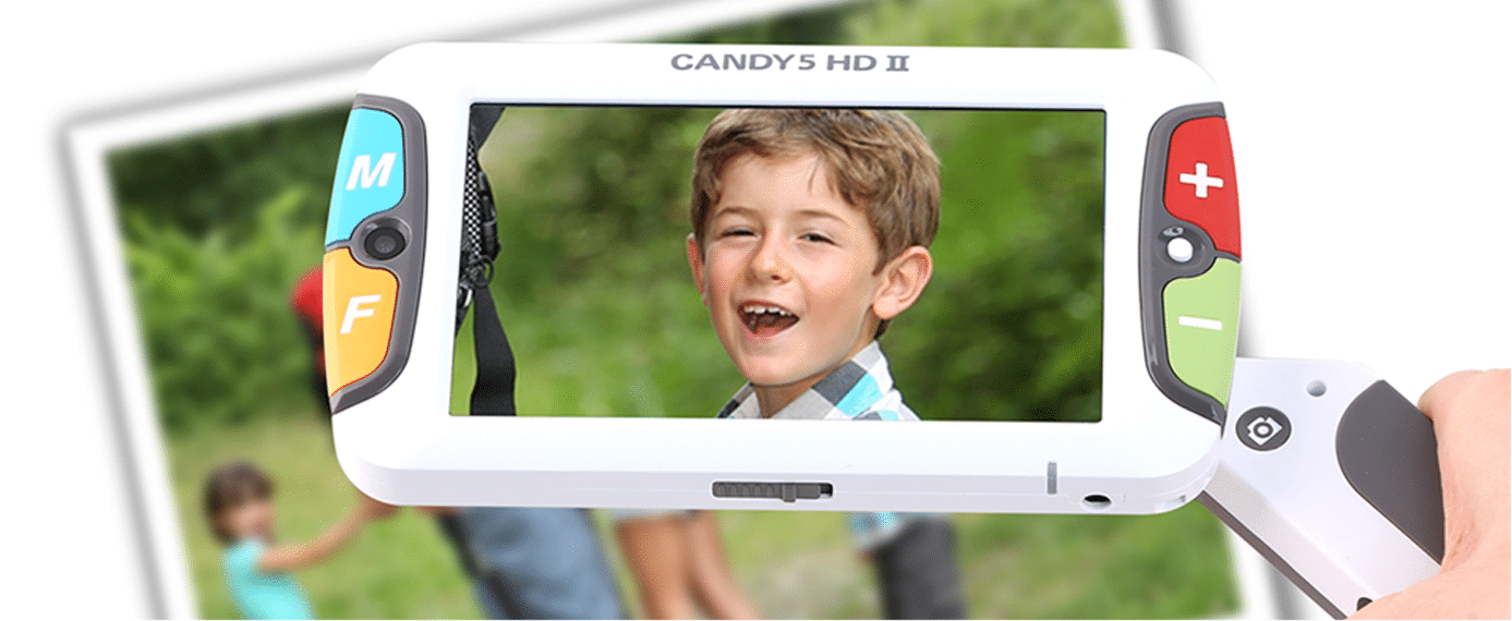 Loupe électronique Candy 5 HD II