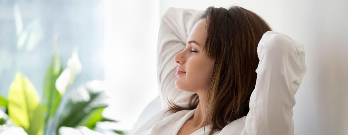 relaxation en cas de nystagmus
