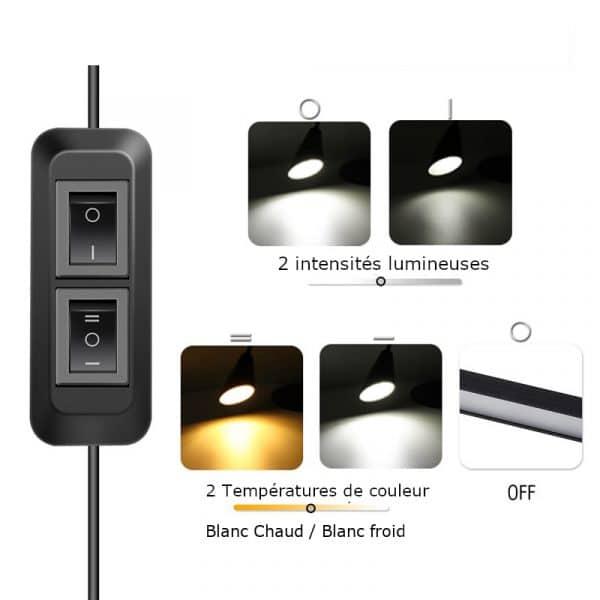 Lampe-multi-usage-telecommande