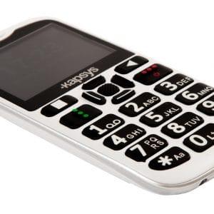 KAPSYS MiniVision2 téléphone adapté vue de côté