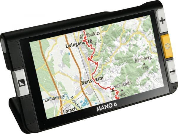 MANO 6, loupe électronique de basse vision