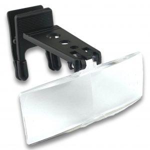 Clip loupe pour lunettes