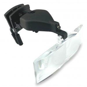 Loupe clip pour lunettes à LED